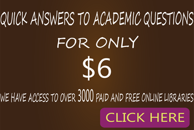 ACADEMIC QUESTIONS ANSWERED
